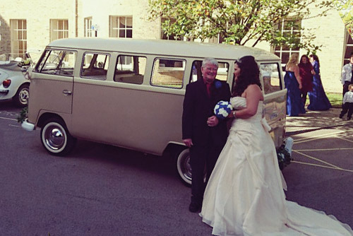 Volkswagen Camper Weddings Hampshire